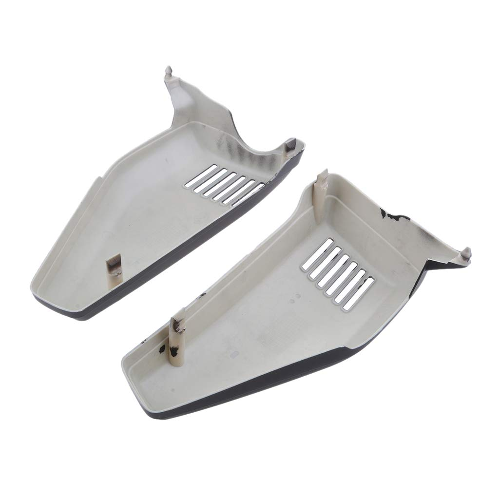 D DOLITY 1 Pair Plastic Motorcycle Left /& Right Panel Side Cover Guard Protector Honda CG110 CG125 JX110