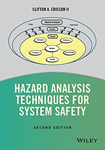 hazard analysis techniques for system safety clifton a ericson ii rh amazon com Safety and You Basic Electrical Safety