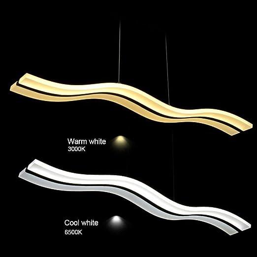 Amazon.com: Lámpara colgante moderna de iluminación LED ...
