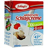 Schlagfix Schlagcreme Sahne ungesueßt 200ml 100% vegan, glutenfrei & laktosefrei