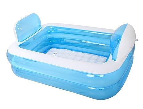 Vasca Da Bagno Pieghevole : Gj vasca da bagno in plastica gonfiabile da bagno pieghevole