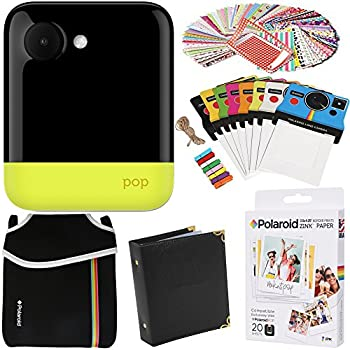 Polaroid Colorful Cover with Strap For Polaroid POP Instant Print Digital Camera - White