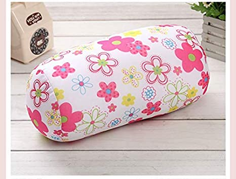 DadaA Cervical Pillow Microbead Bolster Tube Pillow for Neck Backrest for Car or Office Chair Sofa Leopard