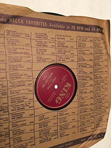 Brown Ferry Four - THRONE ETERNAL-WHEN HE CALLS HIS REAPERS 78 RPM RECORD