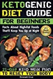 Ketogenic Diet Guide for Beginners: Facts About High-Fat Foods That'll Keep You Up at Night. 21-Day Keto Meal Plan To Reset Your Body
