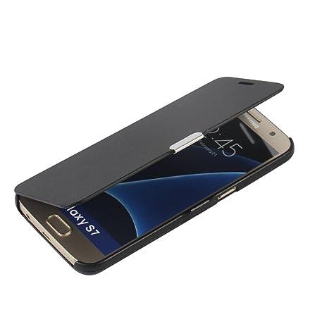 MTRONX für Samsung Galaxy S7 Hülle, Case Cover Schutzhülle Tasche Etui Klapphülle Magnetisch Dünn Leder Folio Flip für Samsun