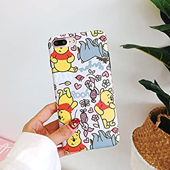 Amazon.com: CASESOPHY Soft TPU Yellow Winnie The Pooh Bear ...