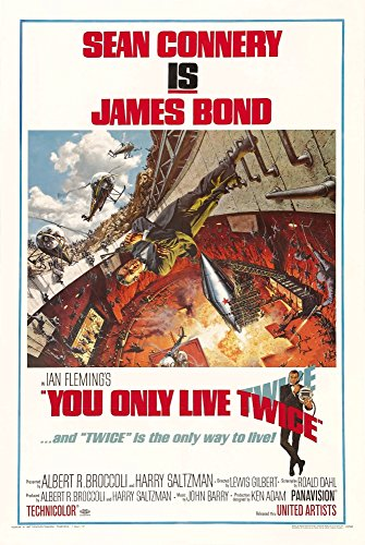 You Only Live Twice Movie Poster Masterprint (24 x 36)
