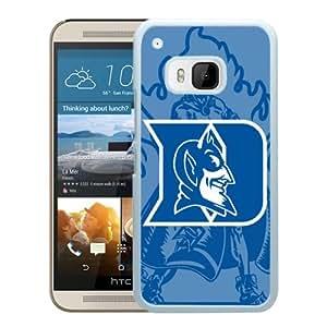NCAA Duke Blue Devils 7 White Popular Custom Design HTC ONE M9 Phone Case