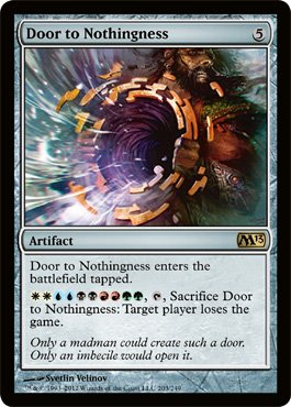 Magic: the Gathering - Door to Nothingness (203) - Magic 2013