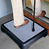 DNY© Anti Slip Half Step Elderly Disability Door Walking Stool Outdoor Mobility Aid