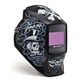 Auto Darkening Welding Helmet, Black, Digital Elite, 8 to 13 Lens Shade