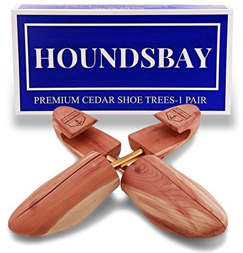 HoundsBay Men s Cedar Shoe Tree with Wide Heel and