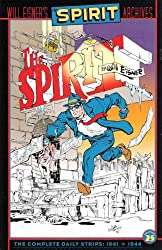 The Spirit Archives, Volume 25, The Complete Daily Strips, 1941 to 1944