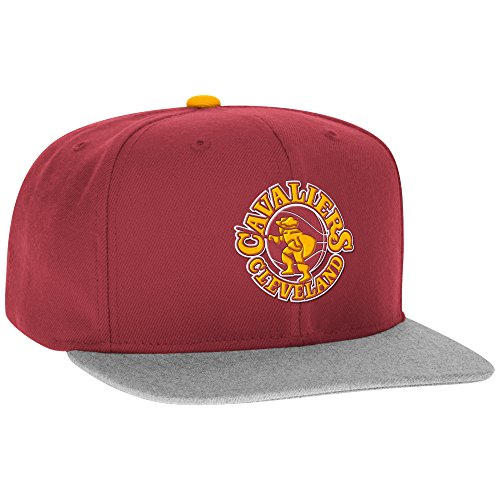 NBA Cleveland Cavaliers Men's Hardwood Classic Team Snapback Cap, One Size, Red ()