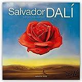 Graphique Salvador Dali Wall Calendar - 16-Month 2019 Calendar, 12''x12'' w/ 3 Languages, 4-Month Preview, Marked Holidays