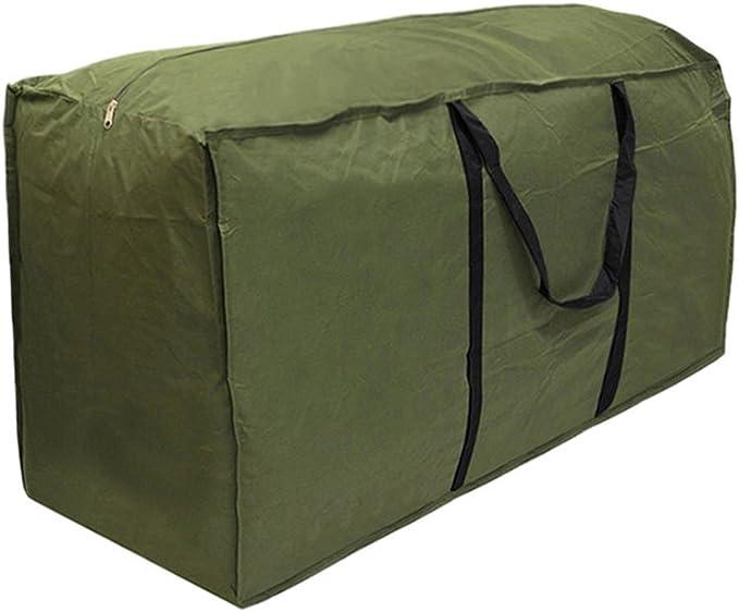 Sac de rangement étanche pour meuble de jardin - sacoche de transport légère 173 x 76 x 51 cm vert militaire: Amazon.es: Jardín