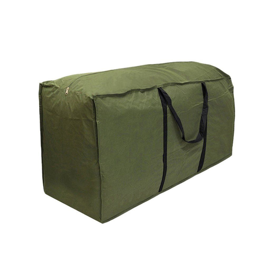 Luckycyc Furniture Patio Seat Cushion Storage Bag Cover Waterproof Polyester Carry Bag (116 x 47 x 51cm)