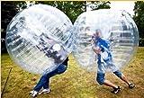 Qiyun Body Zorbing Ball Zorb Ball Bumper Ball Inflatable Ball Soccer Bubble PVC 1 2M