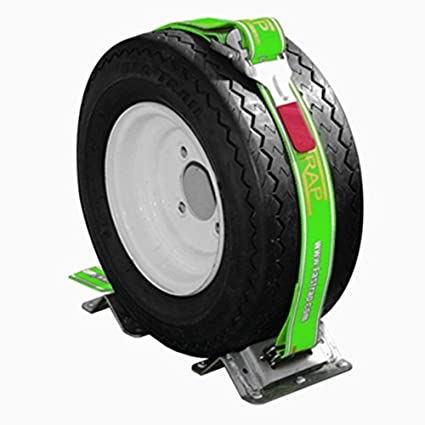 Green Touch Fastrap Single Tire Strap Tie-down Kit