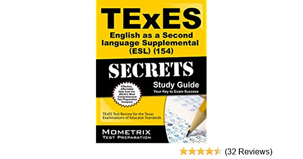 .com: texes english as a second language supplemental (esl ...