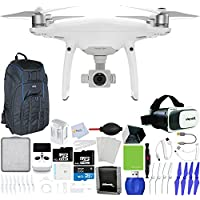 DJI Phantom 4 Pro+ Quadcopter + Xtreme VR Vue II (For iPhone/Android Screen Size 3.5-6) + Backpack Pro II + Sunshade Hood + Sunshade Hood for Remote Controller + Lens Cleaning Pen & More!