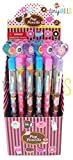 TINYMILLS 24 Pcs Donuts Multi Point Pencils