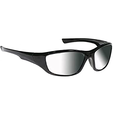 3ef8c54f51 Image Unavailable. Image not available for. Color  Transition Sunglasses in Sleek  Black Nylon Frame