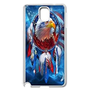 James-Bagg Phone case Eagle pattern art For Samsung Galaxy NOTE4 Case Cover FHYY393071