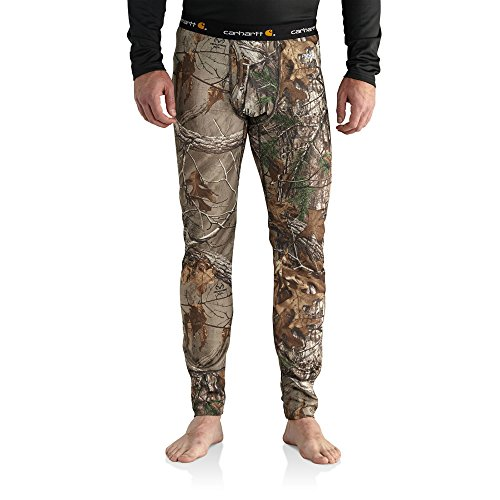 Carhartt Men's 102225 Base Force Extremes Cold Weather Camo Bottom - Large Regular - Realtree Xtra