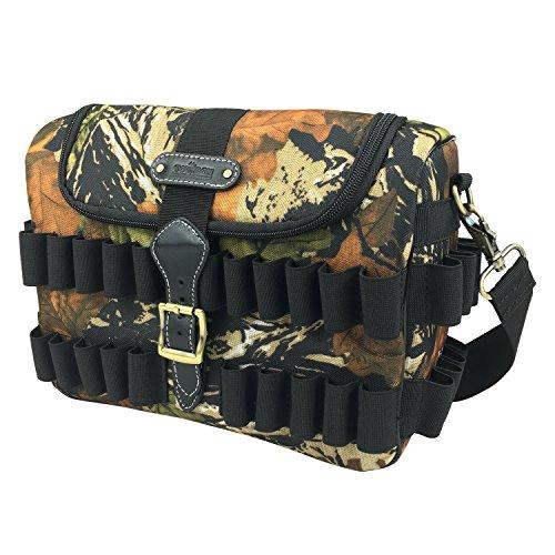 - TOURBON Hunting Shotgun Shell Speed Loader Cartridge Game Bag - Camouflage
