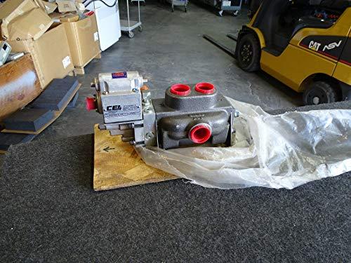 CEI Control Enterprises Inc 99688 SERVO Valve w/Hydraulic Manifold 1500 - 1500 Manifold