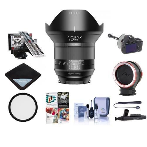 IRIX 15mm f/2 4 Blackstone Lens for NIKON DSLR Cameras - Manual
