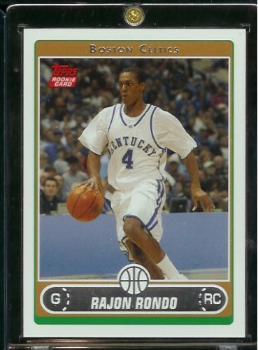 Rondo Boston Celtics Basketball Rookie Card #251 - Mint Condition - Shipped In Protective ScrewDown Display Case! ()