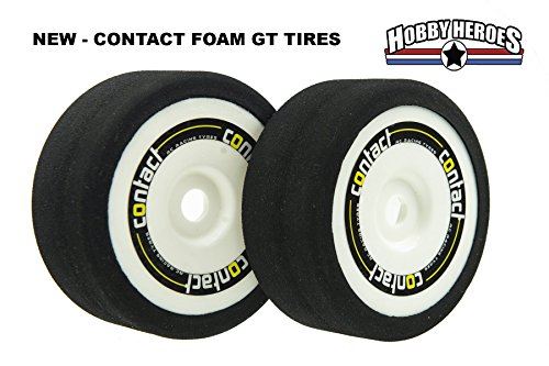 Contact 1/8 On Road Foam GT Tires CONJ825G GRP style (2)
