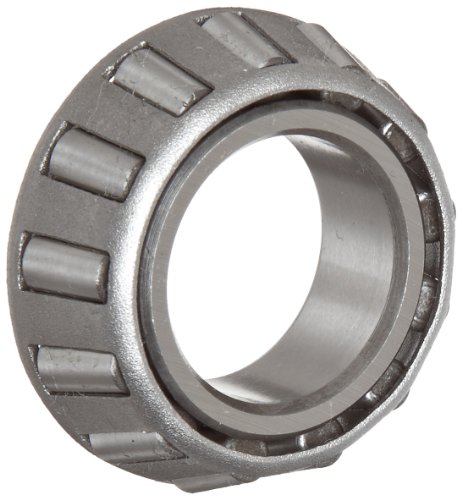 Timken A6075 Tapered Roller Bearing, Single Cone, Standard Tolerance, Straight Bore, Steel, Inch, 0.7500