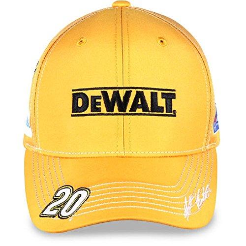 Nascar Adult Driver Sponsor Uniform Adjustable Hat Cap Matt Kenseth  20 Dewalt
