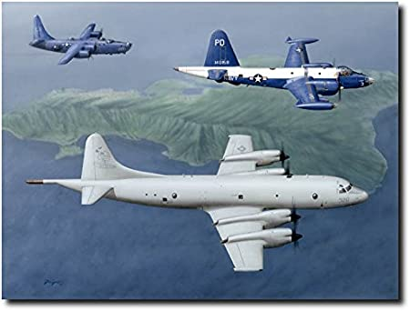 "/""Patrol Squadron Nine/"" Don Feight VP-9 Squadron Print"