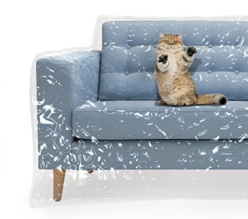 Plastic Couch Cover For Pets Cat Scratching Protector