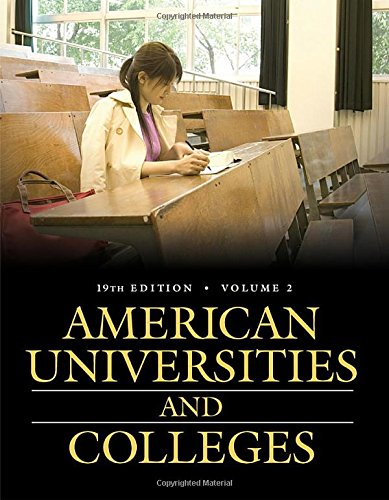 American Universities and Colleges, 19th Edition [2 volumes] (American Universities & Colleges)
