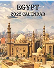 Egypt Calendar 2022: Monthly 2022 Calendar Book with Pictures of Egypt