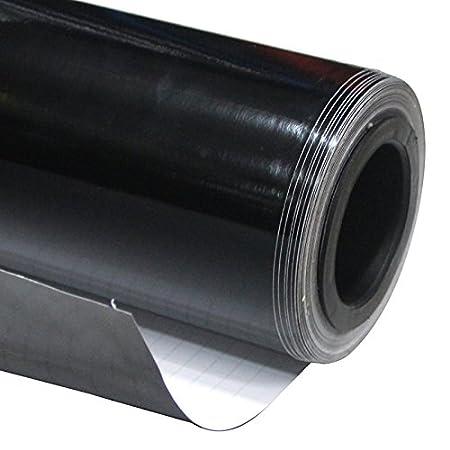 Finitura Lucida in Vinile Wrap Pellicola Car Wrapping grafiche 50 cm x1.52 m (0.5 m x1.52 m) (48, 3 x 149, 9 cm) (Nero) 3x 149 9cm) (Nero) Imported