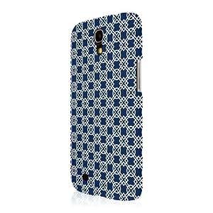 Blue White Pattern Hard Cover Case for Samsung Galaxy Mega 6-3 I9200 I9205 D97R
