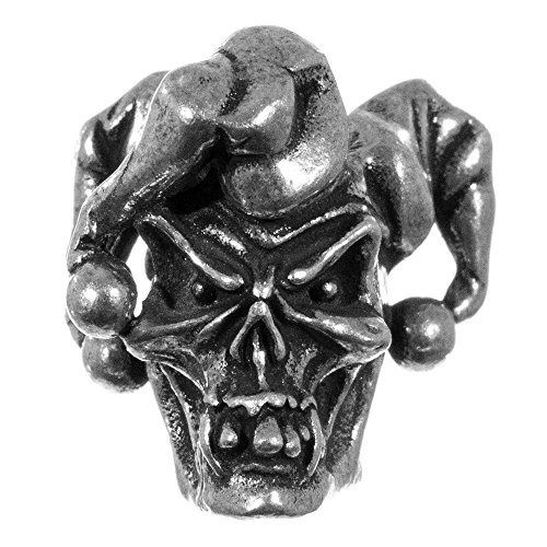 PARACORD PLANET Skull and Various Beads - Keychains, Lanyards - Available in Single, 2 or 5 Packs