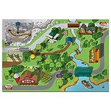 Fisher-Price Thomas & Friends Wooden Railroad Island Playboard