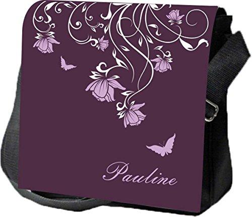 Schultertasche Umhängetasche Handtasche personalisiertes Geschenk Ranke Mareike