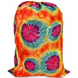 Tie-dyed Laundry Bag Orange