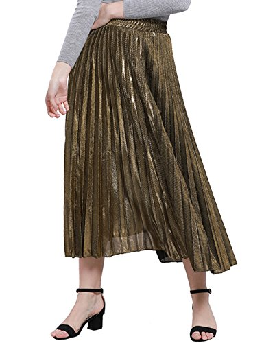 Gold Long Skirt - 3