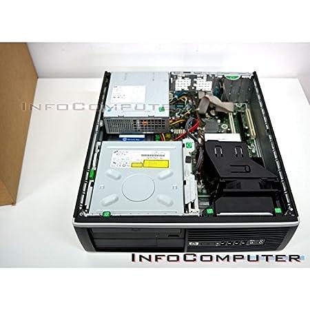 HP Elite 8200 Sff - Ordenador de sobremesa (Intel Core I5-2400 Quad Core, 4GB RAM, HDD de 1 TERA, DVD, COA WINDOWS 7 PRO Original) Negro (Reacondicionado ...