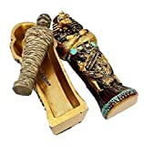 Ebros Egyptian King Tutankhamun Pharaoh Sarcophagus
